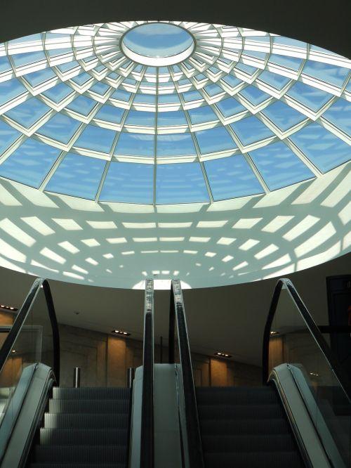 prekybos centras,prekybos centras,centras,stiklo stogas,eskalatorius,šešėlis,apsipirkimas,prekybos centras,prekybos centras,mažmeninės prekybos parduotuvės,pastatas,poveikis,architektūra,miestas,Münster arkaden,münsteris,westfalen