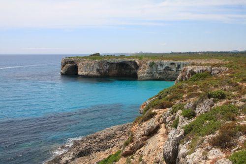 mallorca rock sea