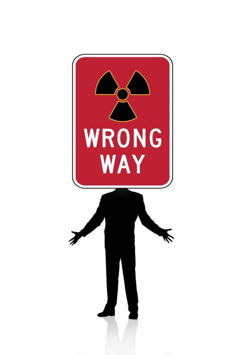 vyras,siluetas,kelio ženklas,įspėjimo trikampis,kelio zenklas,warnschild,dėmesio,problema,branduolinė radioaktyvumas,toli,klaidinga
