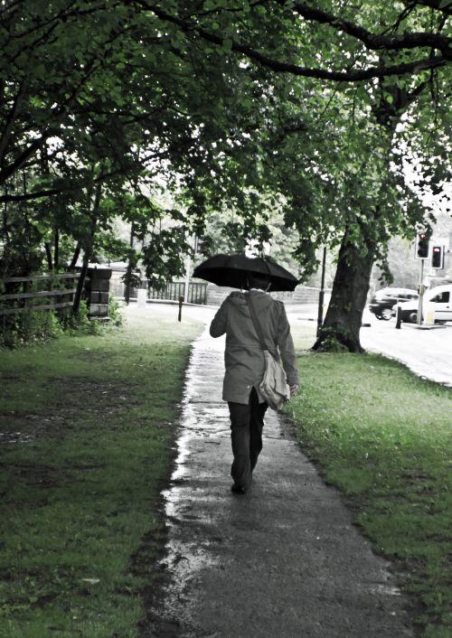 vyras, skėtis, lietus, sezonas, fonas, Patinas, žmonės, oras, pavasaris, vasara, ruduo, žmogus ir skėtis