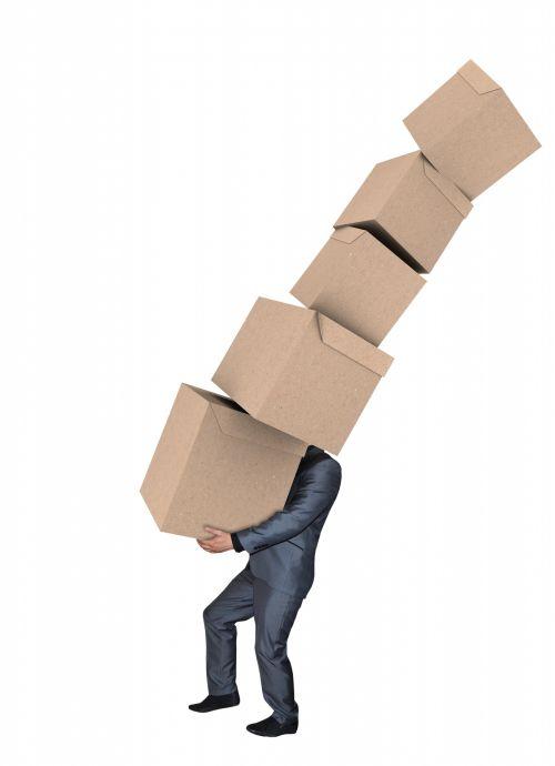 vyras, verslininkas, kostiumas, vežti, dėžė, dėžės, krūva, krūva, aukštas, kartonas, kartono dėžutė & nbsp, kartonai & nbsp, dėžutės, dėžutė, dėžutės, krenta, daugiau, kritimas, izoliuotas, balta, fonas, Laisvas, viešasis & nbsp, domenas, žmogus, nešiojęs dėžes