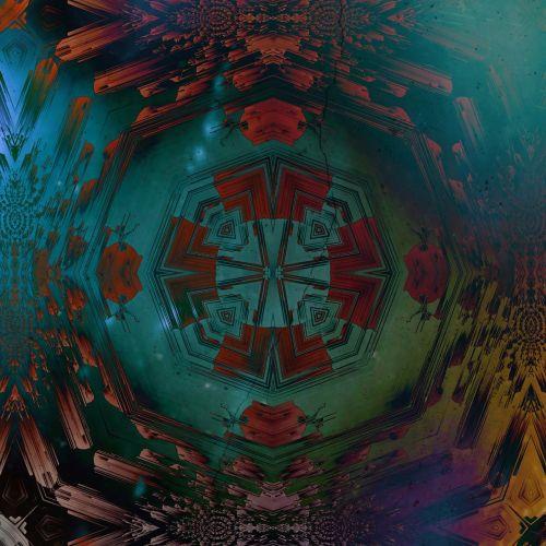 mandala,neonas,simetriškas,simetrija,geometrija,geometrinis,skaitmeninis menas,skaitmeninis