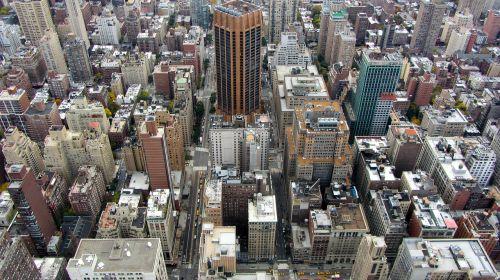 Manhatanas,Niujorkas,ny,nyc,Niujorkas,miestas,panorama,dangoraižiai,usa,didelis obuolys,miesto,didelis miestas,metropolis