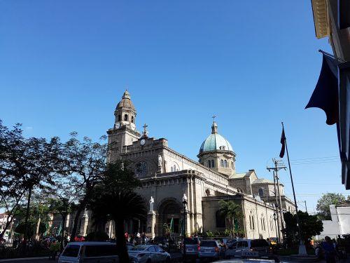Manila,Filipinai,bažnyčia,Dom,katedra