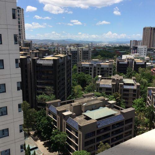 Manila,miestas,mėlynas dangus