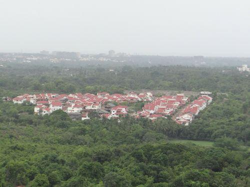 manipalio slėnis,udupi,Karnataka,Indija,miestas,Miestas,namai,namai,kraštovaizdis,dykuma,peizažas,natūralus,laukiniai,lauke,aplinka,vaizdingas,žemė,gamta
