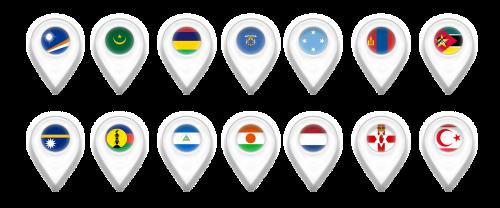 žemėlapis,žemėlapiai,geografinė padėtis,pin,Marsala salos,Mauritanija,Mauricijus,melilla,Mikronezija,Mongolija,Mozambikas,Nauru,Naujoji Kaledonija,Nikaragva,niger,Nyderlandai,Šiaurės Airija,šiaurės-kipras