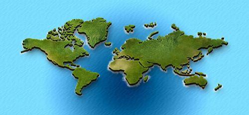 žemėlapis,geografija,Šalis,3d,žemynas,geometrinis