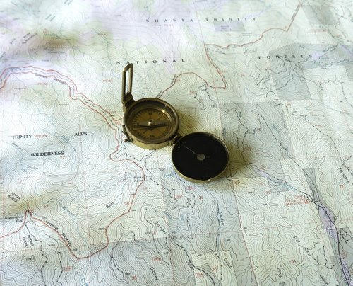 žemėlapis, Topo žemėlapis, topografinis žemėlapis, kompasas, žalvario kompasą, derliaus kompasą, USGS žemėlapis, California, topografija, topografinė