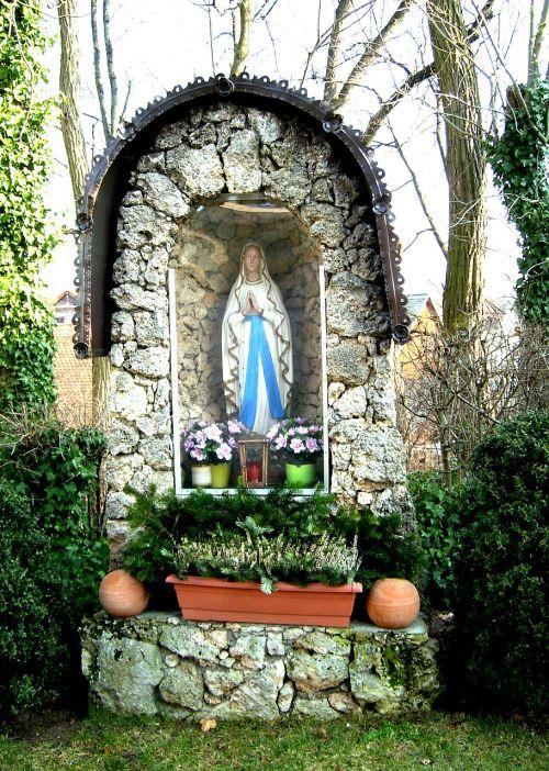 Marija,figūra,madonna,Dievo Motina,krikščionybė,statula,šventoji Marija,hausen,bavarija
