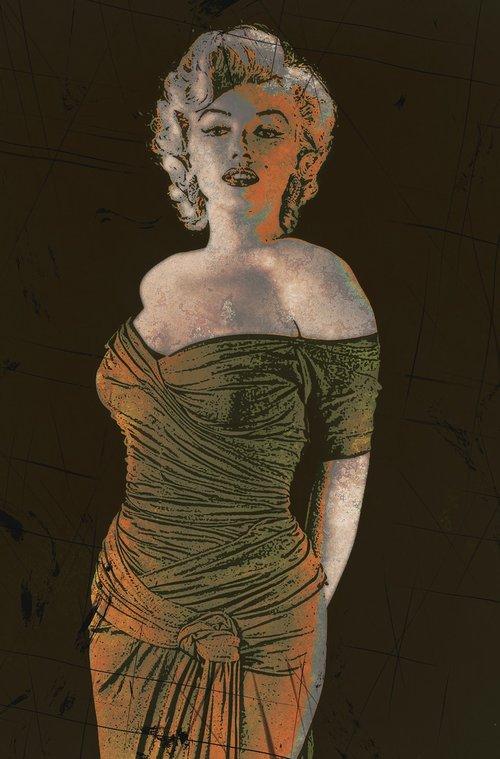 Marilyn Monroe, Aktorė, Amerika, JAV, Grožio, moteris, Celebrity, modelis, Moteris, 1950, sekso simboliu, menas, Anotacija, tapyba, Abstraktus menas, išraiškingas, modernus menas, modernus, vaizdo, grafinis, Nemokama iliustracijos