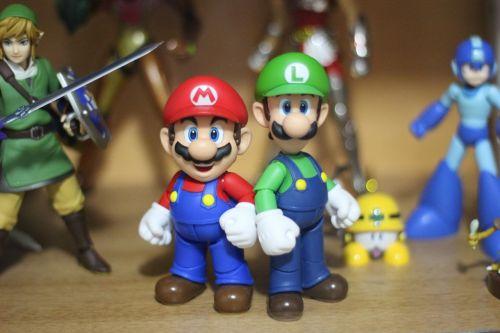 mario,Luigi,Nintendo,žaislas,rinkimas