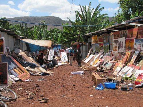 turgus,Tanzanija,paveikslai