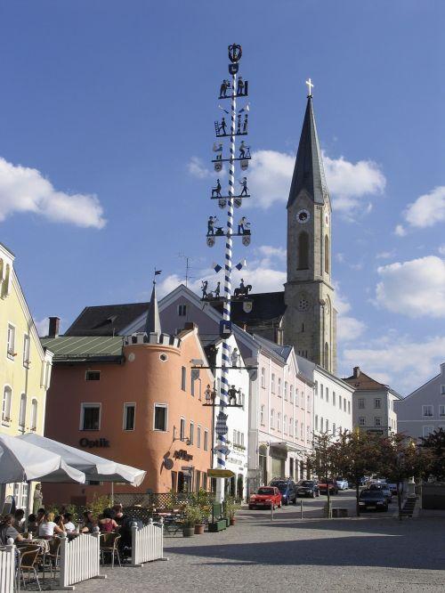 prekyvietė,Waldkirchen,portretas