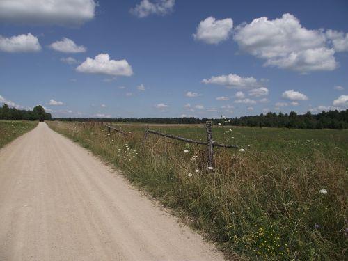 masurija,kraštovaizdis,kelias,dangus,Lenkija,debesys,gamta,vaizdas,medis,nuotaika,kaimas,turizmas,karvės,burės,šventė,Žemdirbystė