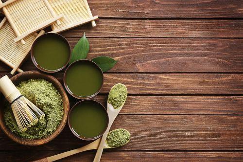 matcha milteliai,šviežias,žalias,milteliai,matcha,sveikas,pienas,gerti,japanese