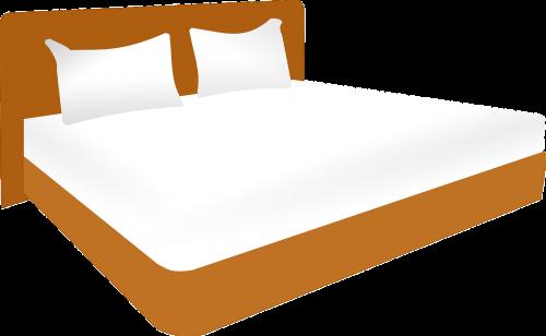 sutuoktinė lova,lova,santuokos lovos,sutuoktinė,dvigulė lova,pora,Vestuvės,baldai,miegamasis,miega,pagalvės,nemokama vektorinė grafika