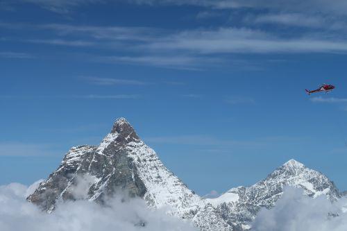 Matterhorn, Sraigtasparnis, Swiss, Zermatt