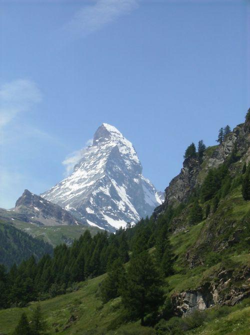 matterhorn,Alpių,kalnas