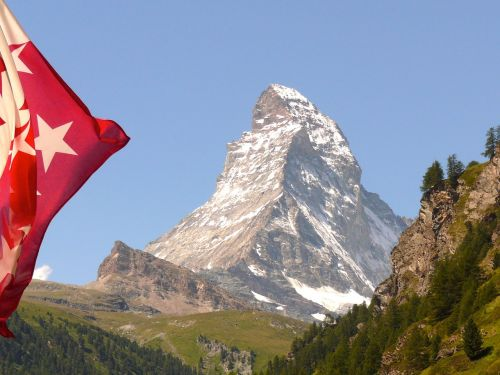 Matterhorn, Zermatt, Šveicarija