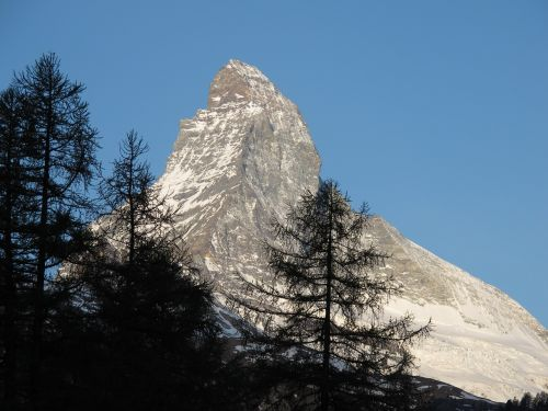 Matterhorn, Šveicarija, Zermatt, Valais, Swiss Alps