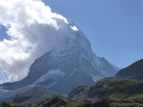 Matterhorn, Valais, Zermatt, Kraštovaizdis