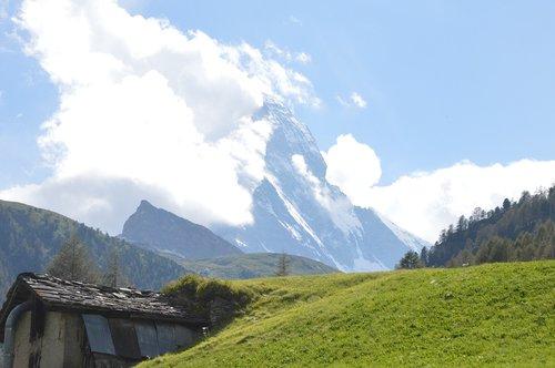 Matterhorn,  Ganyklos,  Mesti,  Zermatt