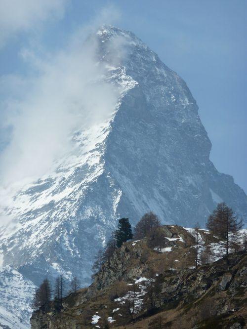Matterhorn, Zermatt, Masyvas, Šveicarija