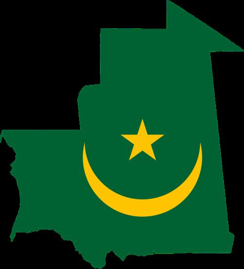 Mauritanija,vėliava,žemėlapis,geografija,kontūrai,afrika,Šalis,tauta,sienos,svg,figūra,nemokama vektorinė grafika