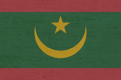 Mauritanija,vėliava,tarptautinis