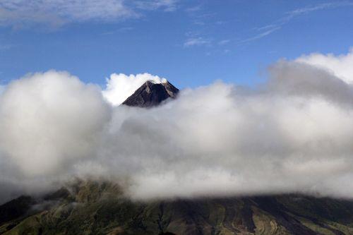 Mayon & nbsp, vulkanas, vulkanas, pelenai, vulkaniniai & nbsp, pelenai, debesys, Filipinai, dūmai, Majono vulkanas