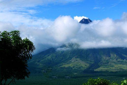 vulkanas, gamta, debesys, gražus, dangus, mėlynas & nbsp, dangus, Mayon & nbsp, vulkanas, puikus & nbsp, kūgis & nbsp, iš & nbsp, ugnikalnio, objektas, fonas, tapetai, Majono vulkanas 3