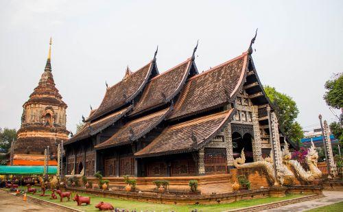 priemonė,Chiang Mai Tailandas,pagoda,senovės,Tailandas,wat lok moli