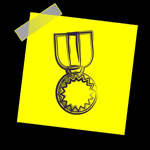 medalis,įsakymas,auksas,pergalė,armija,apdovanojimas,karas,ženklelis,kariuomenė,simbolis,kareivis,piktograma,geltona lipdukė,pastaba,rašyti pastabą