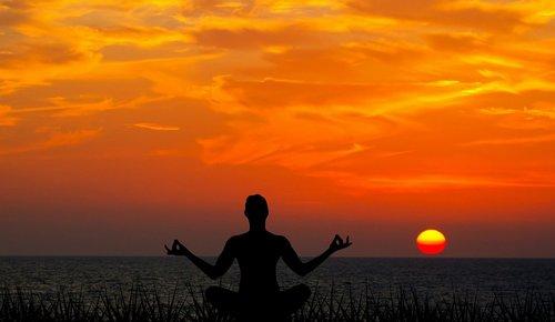 medituoti, saulėlydžio, meditacija, Joga, pobūdį, sonaaf, taika, sveikata, pratimas, Meditacija pobūdį, moteris, atsipalaiduoti, Joga Meditacija, siluetas, kelti, saulė, kūnas, atsipalaidavimas, jūra, Sunrise, dangus, Zen, nuraminti, Jogos pozos, vandenynas
