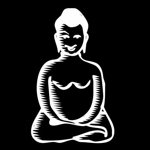 piešimas, buda, medituojantis, piktograma, meditacija, simbolis, religija, mokykla, tradicija, puikus, apšvietimas, garbinimas, dievas, budizmas, gautama, sidhartha, doodle, animacinis filmas, siluetas, meditacija