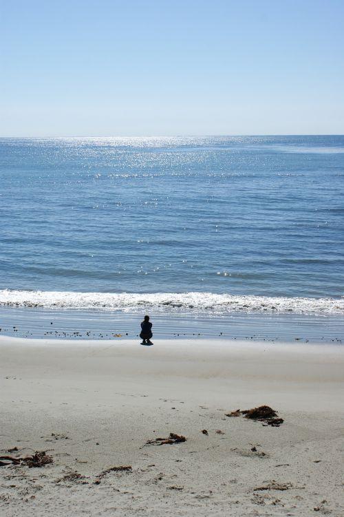 meditacija,jūra,paprastumas