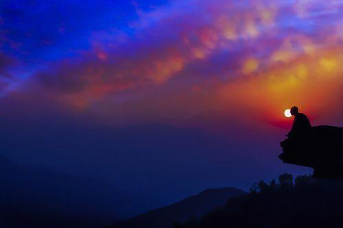 meditacija sūkuryje,twilight,saulėlydis,meditacija,ramus,atsipalaidavimas,medituojantis,vakaras,dvasingumas,taika,dusk