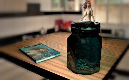 undinė, fantazija, Laisvas, iliustracijos, gražus, pasaka, mistinis, misticizmas, vandens, žuvies, Paslaptingas, komponavimas, kelti, sėdi, magija, undinė