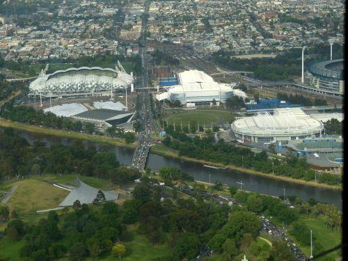 Melburnas,australia,Sportas,sporto aikštelė,arena,salė,sporto salė,futbolo aikštė,perspektyva,vaizdas
