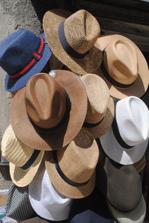 vyriškos skrybėlės, saulės skrybėlės, skrybėlę, saulė, šiaudai, mens, galvos apdangalai, galvos apdangalai, panama, drabužiai