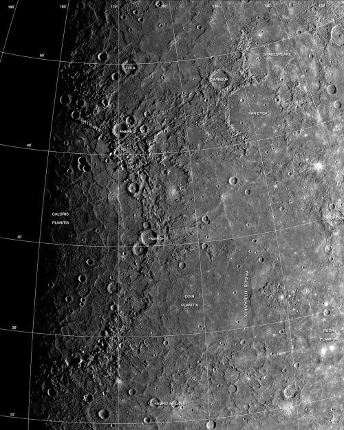 gyvsidabris,planeta,paviršius,saulės sistema,erdvė,caloris planitia,krateris,smūgio krateris