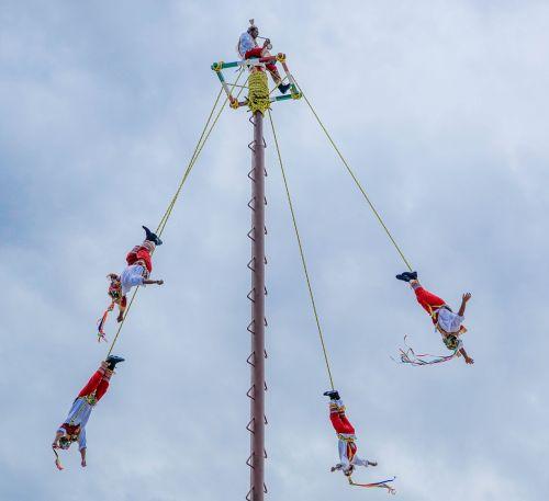 Meksika,akrobatai,atostogos,turizmas,spektaklis,dangus,debesis,kelionė,vaizdingas,debesys,dangaus debesys,mėlynos dangaus debesys,šventė,lauke