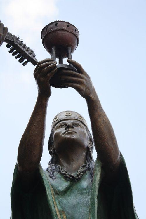 Meksika,čalis,siūlyti,statula,queretaro