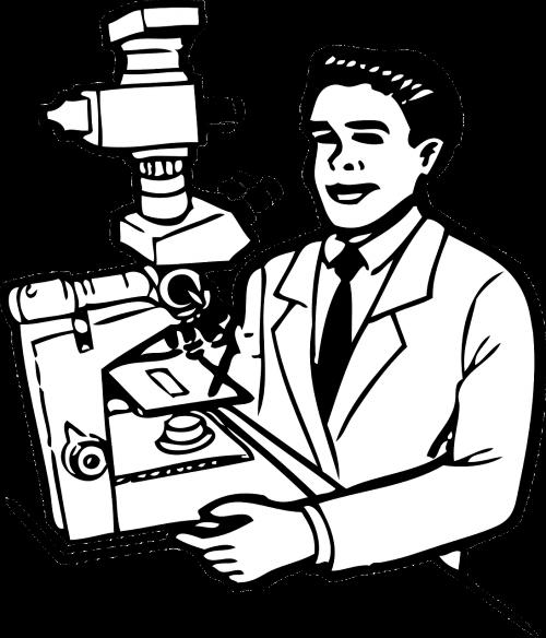 mikroskopas,laboratorija,analizė,klinikinė,laboratorija,tyrimai,nemokama vektorinė grafika