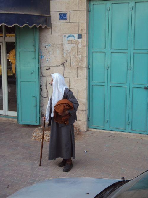 Artimieji Rytai, Sventoji Zeme, Palestinas, Senas Vyras, Gatvė