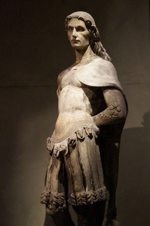 milanas,skulptūra,katedros muziejus