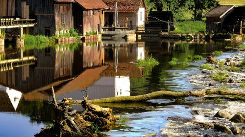 malūnas,weir,vanduo,vandens ratas,malimo ratas,vandens malūnas,vandens galia,šlifuoti,pjūklo malūnas,upė,kanalas,gamta,turbinos ratas,pastatas