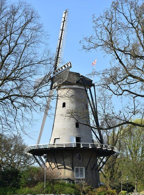 malūnas, vėjo malūnas, Olandų malūnas, dagčiai, malimo peiliai, malūnas duomenys, Istorinis malūnas, Alkmaar