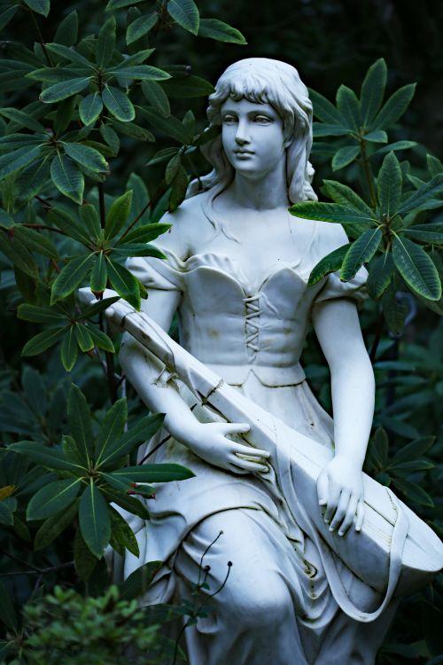 statula, minstrel, muzika, muzikinis, mountmacendon, Macendonas & nbsp, sodai, sodas, sodai, Minstrelio statula